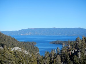 Lake Tahoe - one of the most pristine ecosystems in our country, my former home.