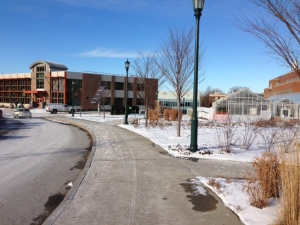 The new Aiken (RSENR) building at UVM - green and great - but how is it setting RSENR apart from the rest of UVM??